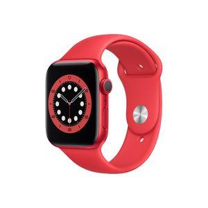 """Apple Watch Serie 6-44"""" ROJO"""