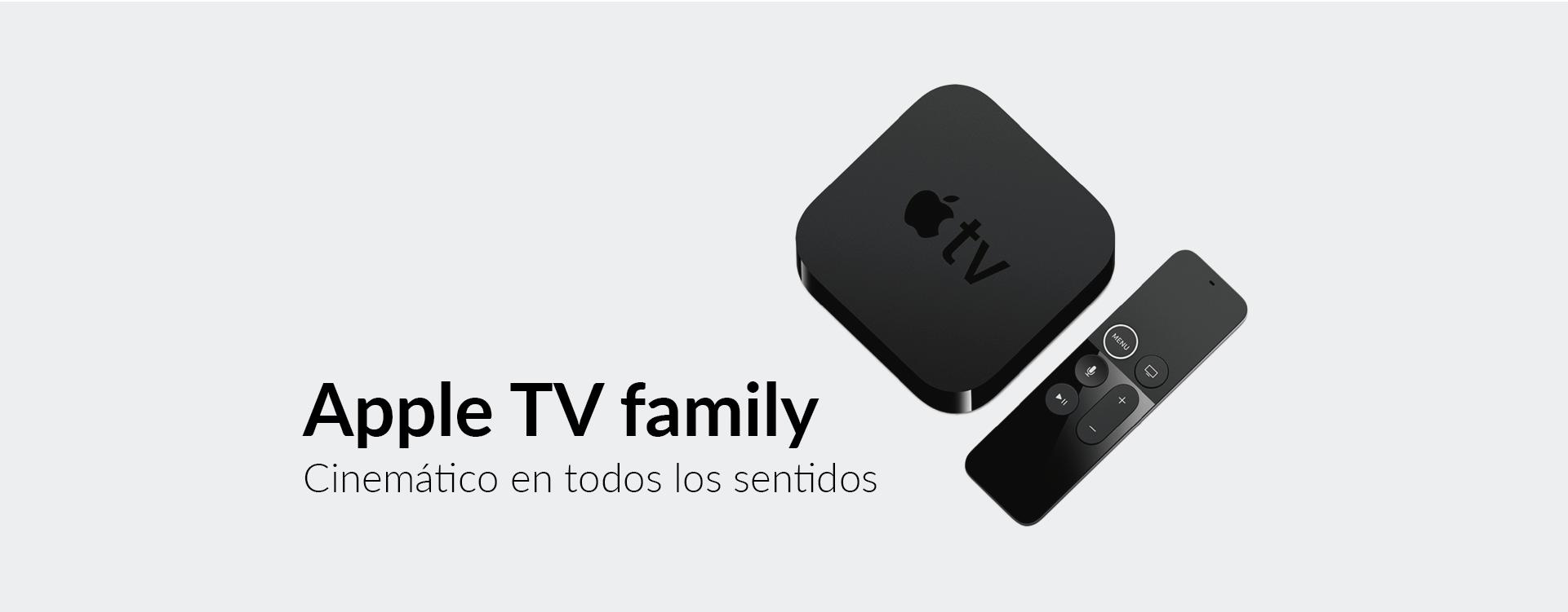 Apple TV family